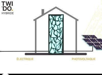 eléctrico, fotovoltaico