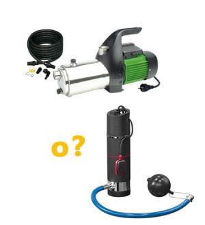 ¿Elegir una bomba sumergida en un pozo o una bomba de superficie?